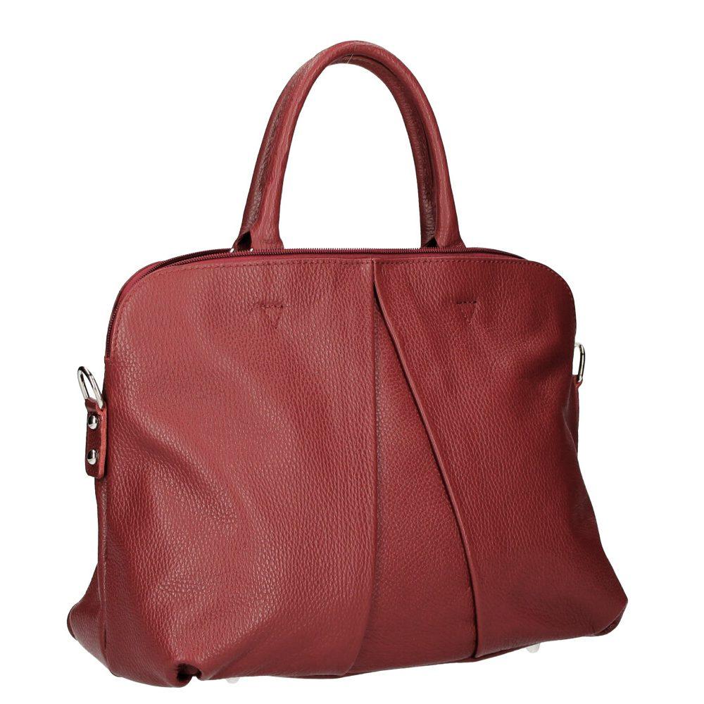 Naturaalsest nahast naiste kott