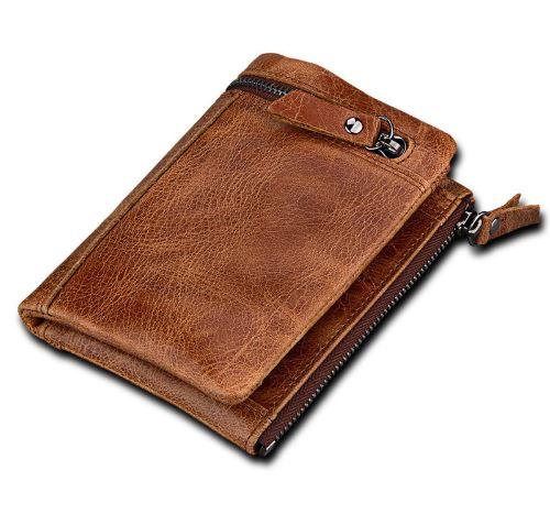 Nahast rahakott meestele W161300 1